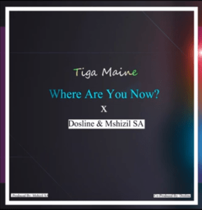 Tiga Maine – Where Are You Now Ft. Dosline & Mshizil SA mp3 download