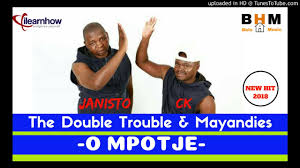 The Double Trouble – O mpotje ft mayandies mp3 download