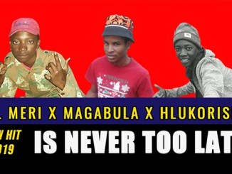 Lil Meri – Is Never Too Late ft Magabula x Hlukoriser
