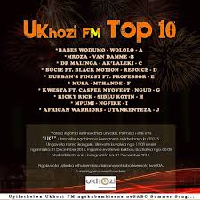 ukhozi fm top 10 song of the year list 2019