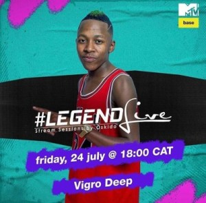 Oskido – Legend Live Mix Ft. Vigro Deep