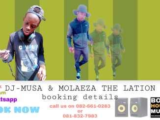 Dj musa & master trendy ft grak laeza - Bomma ngwane (remix)