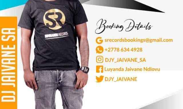 Dj Jaivane – 30 Mins With Simnandi Records 2 (Live Recorded Mix)