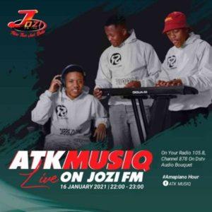 ATK MusiQ – Amapiano Hour Jozi Fm Mix