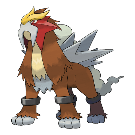 Pokemon 244 Entei