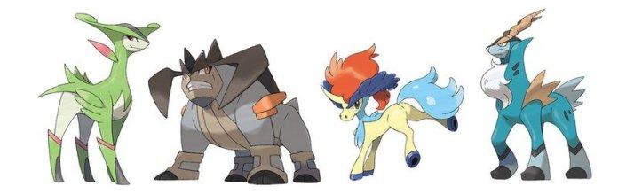 Justice Swords Pokémon