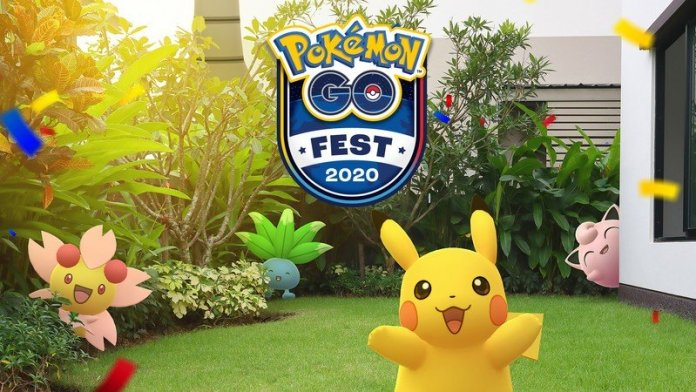 Key Art from Pokemon Go Fest
