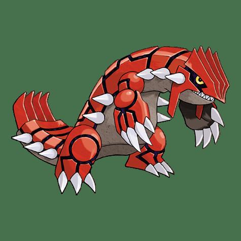 Pokémon 383 Groudon