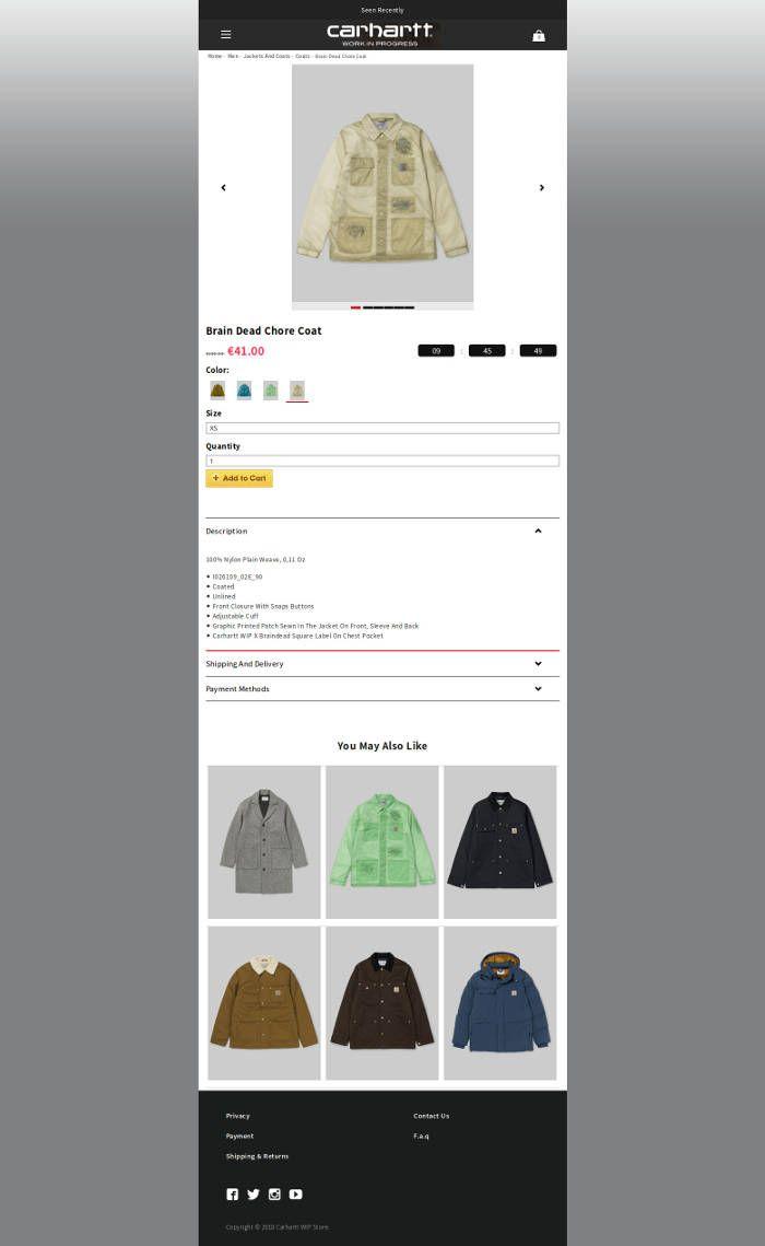Clothesslshop.club Fake Online Shop Carhartt All