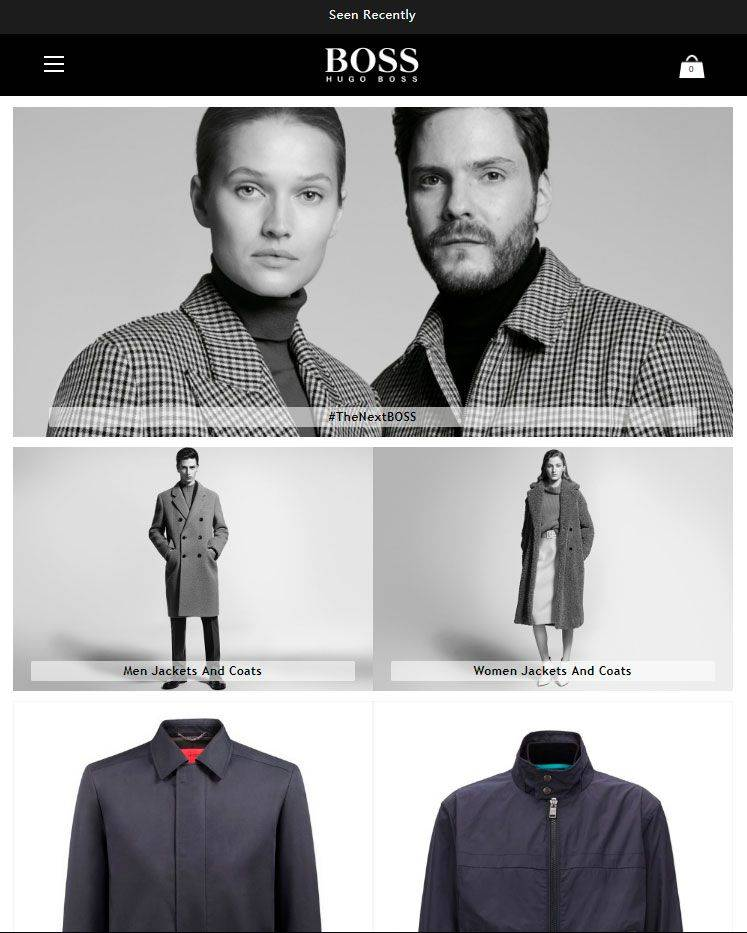 clothingsshopping.club Tienda falsa online de Hugo Boss