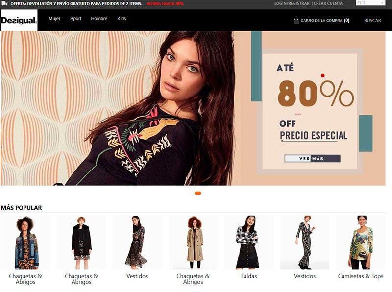 Desigualtienda.online Fake Online Shop Scam Desigual
