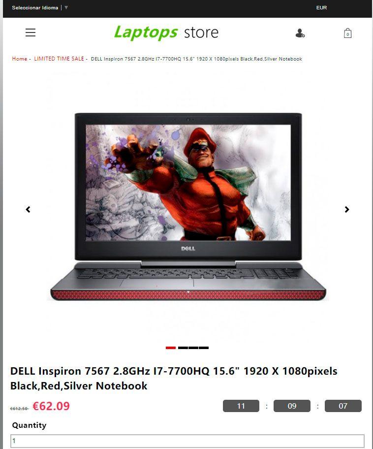 Laptopsshoppingsl.Club Scam Fake High End Laptop Store