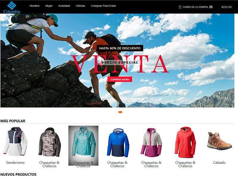 liuguangdao.tk tienda online falsa con productos de columbia