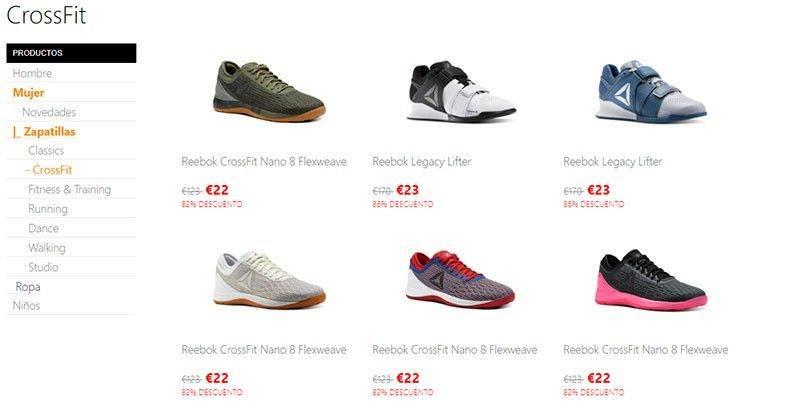 Reeboktienda.online Tienda Online Falsa Estafa