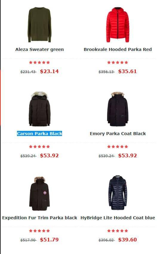 Clothesfairc.club Tienda Falsa Online Abrigos