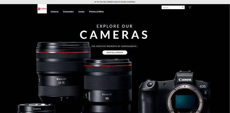 Cnerasdosastore.ga Tienda Online Falsa Productos Canon