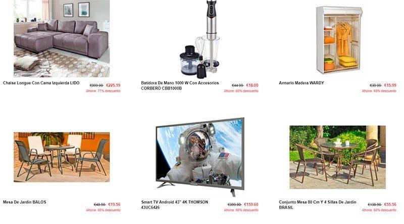 Esxoutlet.com Tienda Falsa Online Outlet Conforama