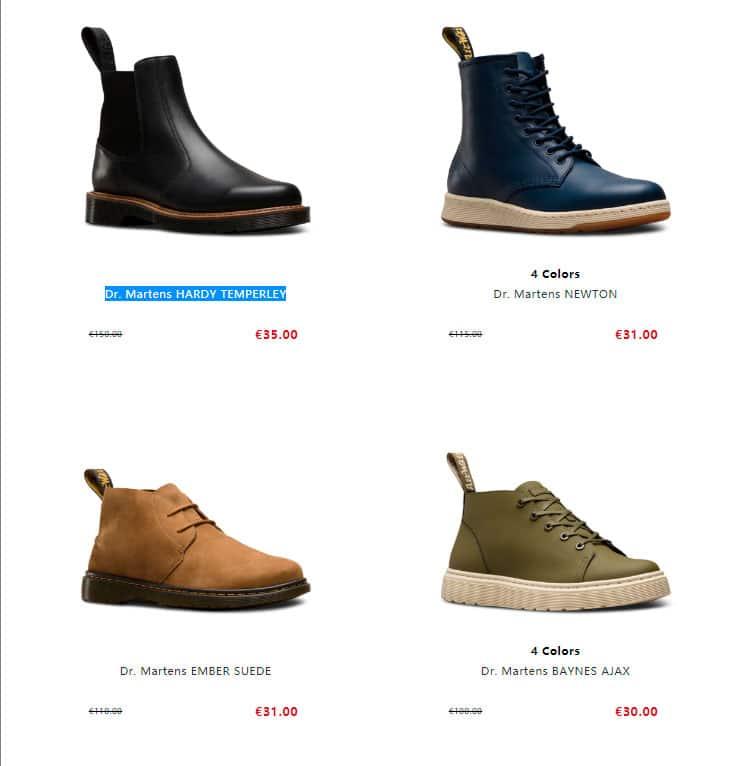 Martinbootsalestores.site Fake Online Boots Shop
