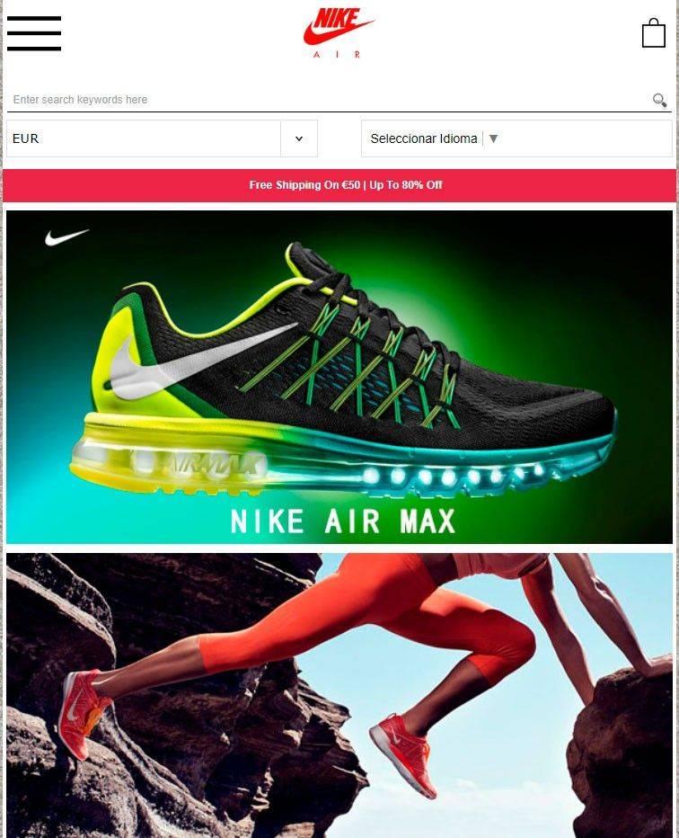 Nkstay.com Tienda Online Falsa Zapatillas Deportivas Nike