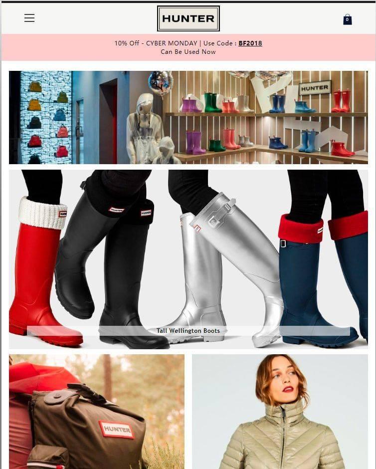 www.rainbootloverstore.club tienda falsa online Hunter