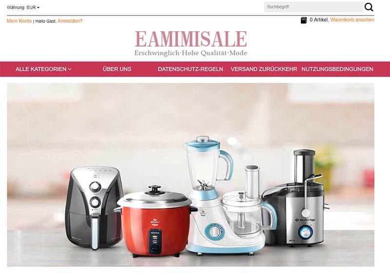 Eamimisale.com Tienda Falsa Online Multiproducto