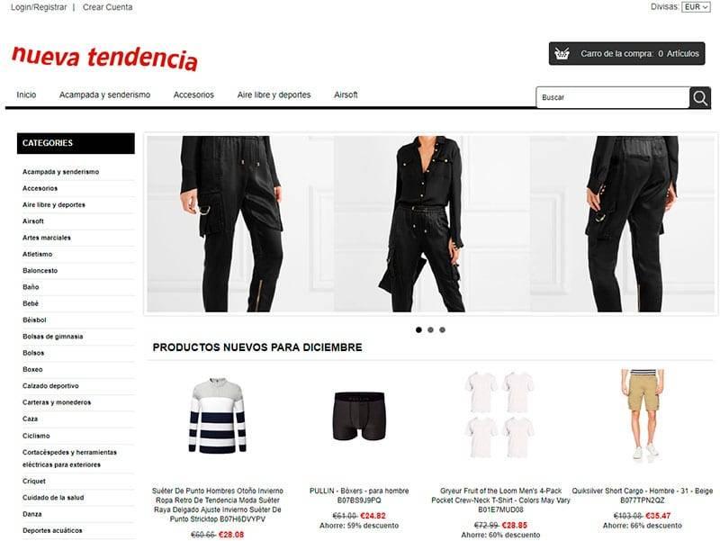 Hornodetentudia.es Tienda Falsa Online Multiproducto