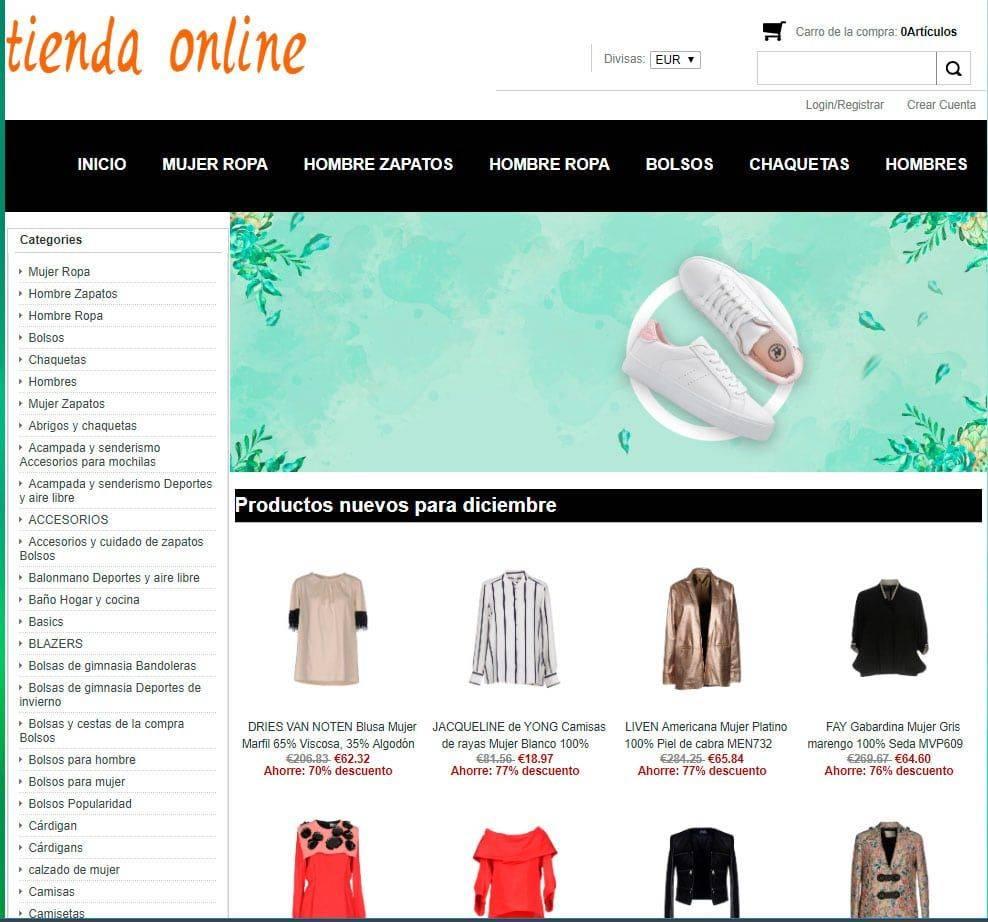 Mancool.es Tienda Falsa Online Ropa
