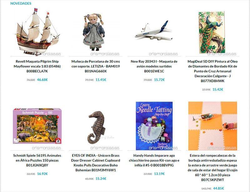 Artemorales.es Fake Online Toy Shop