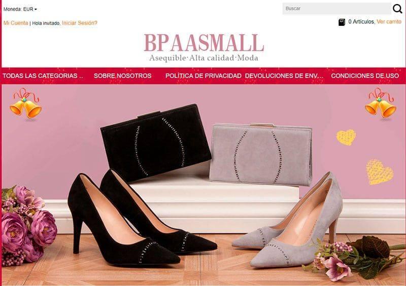 Bpaasmall.com Tienda Falsa Online Multiproducto