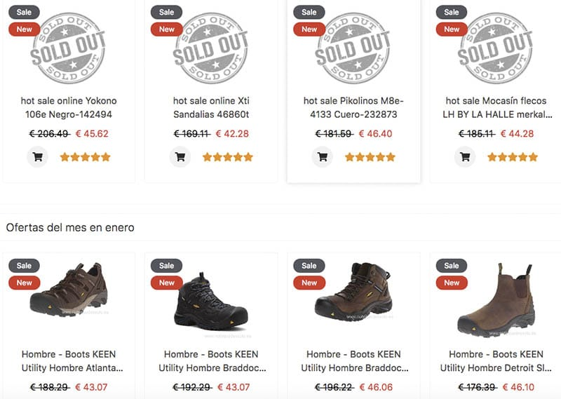 Casestore.xyz Fake Online Shop Of Footwear Products