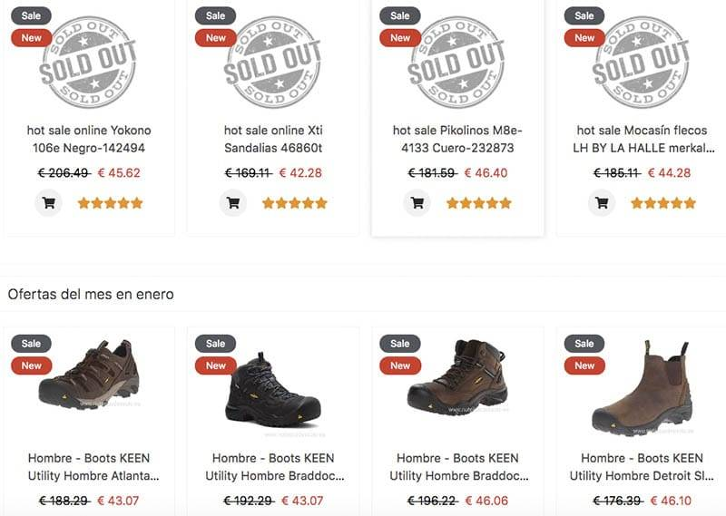 Casestore.xyz Tienda Falsa De Calzado Productos