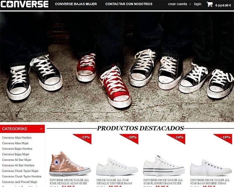 Conversechucktaylor.es Tienda Falsa Zapatillas Converse