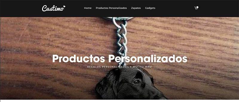 Custimoesp.com Tienda Online Falsa Productos Personalizados