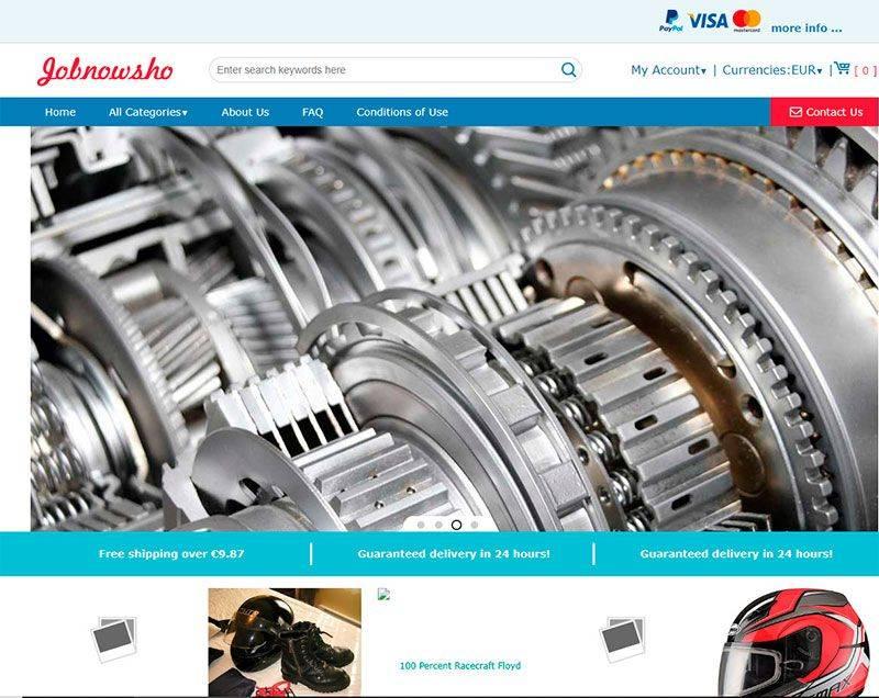 Jobnowshop.xyz Tienda Falsa Online Motor
