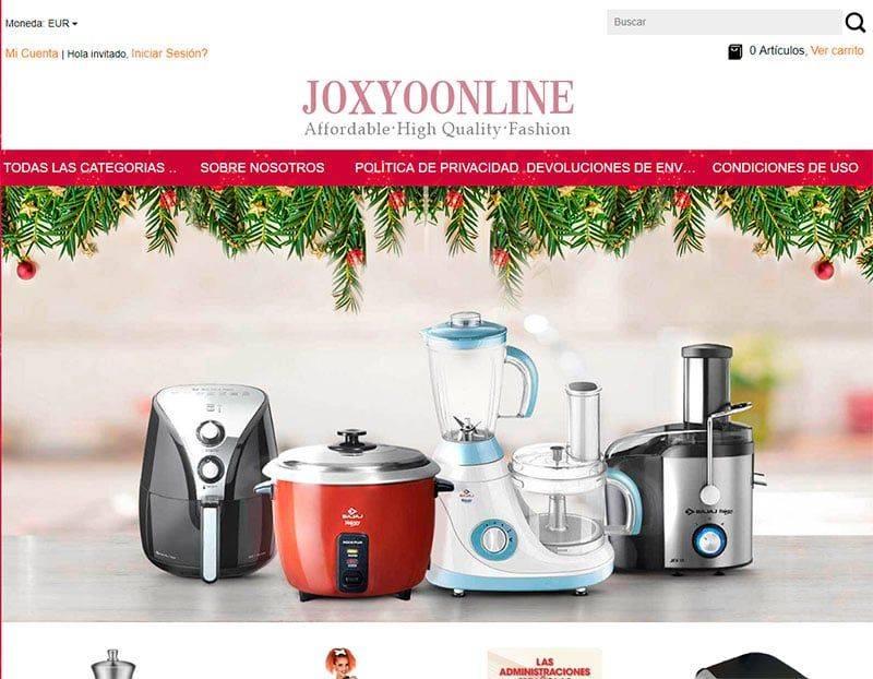 joxyoonline.com tienda online falsa multiproducto