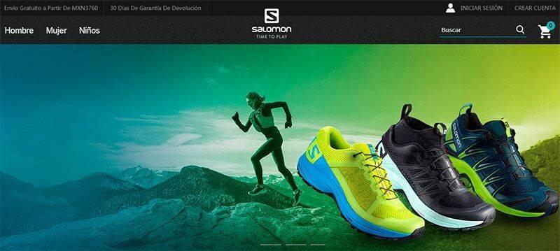 Salomonoutlet.com.mx Tienda Online Falsa Salomon