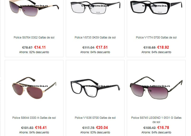 Talleresojea.es Fake Online Shop Glasses