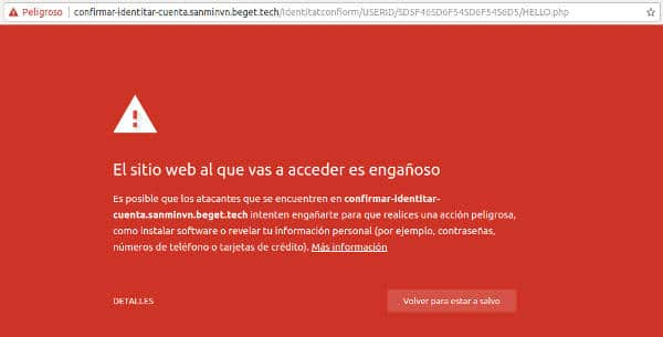 Phishing Paypal Email Confirma Identidad Alerta