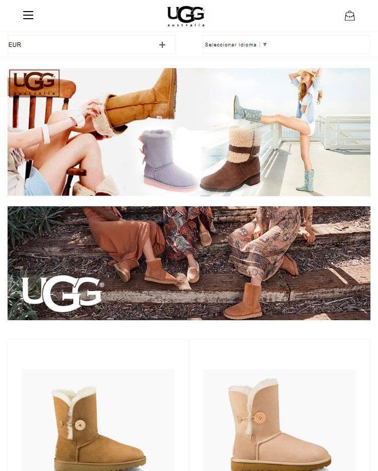 Uggbc.com Tienda Falsa Online Botas Ugg