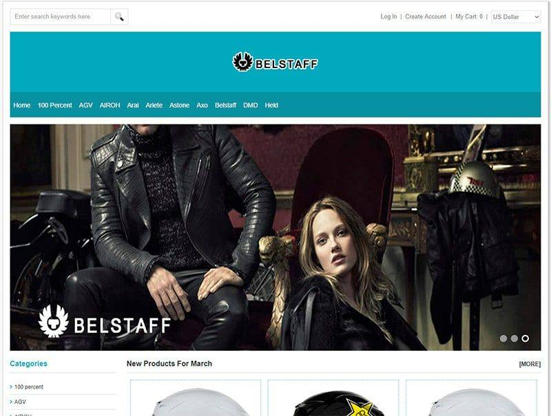 Avantagesgestion.com Tienda Falsa Online Cascos Moto Belstaff