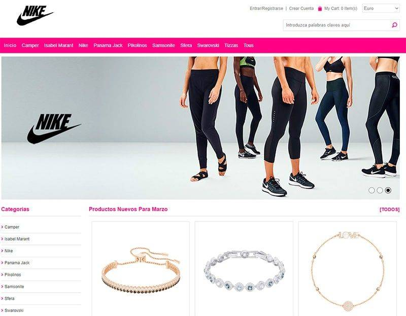 Cittasanjeronimo.com Tienda Falsa Online Moda