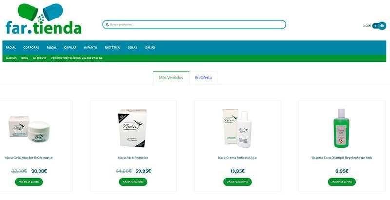 Far.tienda Farmacia Online Sin Acabar Cuidado