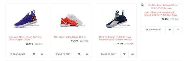 Jordanfe.com Tienda Falsa Online