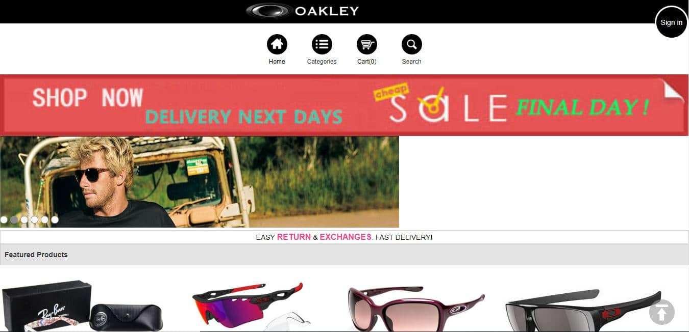 Mallgt.com Tienda Falsa Online Oakley