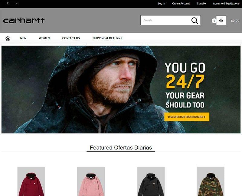 Xincarthatt.online Tienda Falsa Online Carhartt