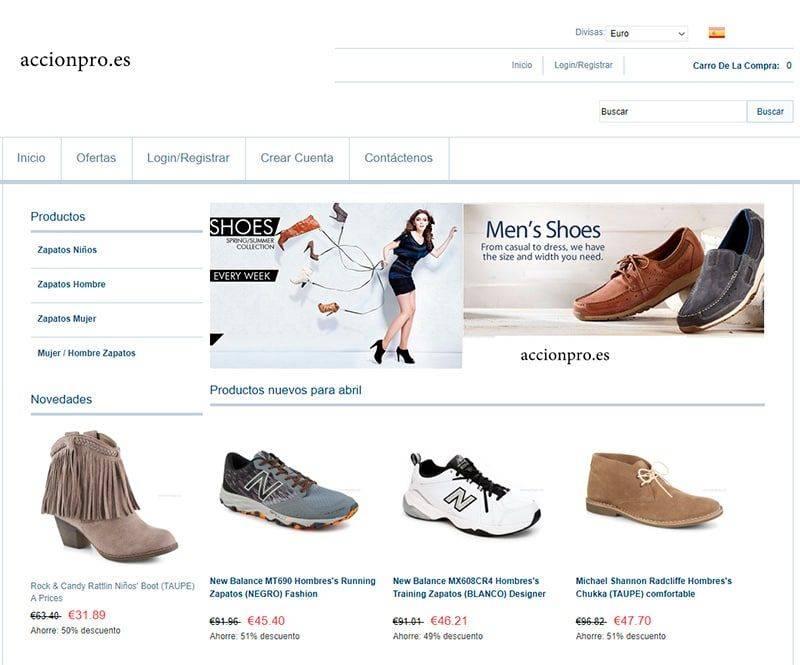 Accionpro.es Tienda Falsa Online Nike New Balance