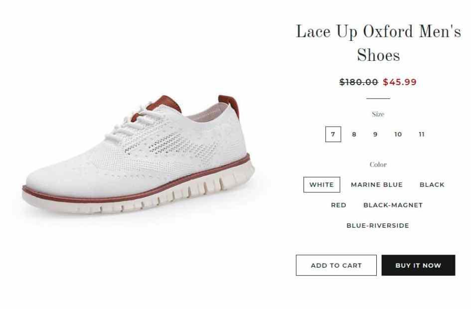 Anyminee.com Fake Online Footwear Shop