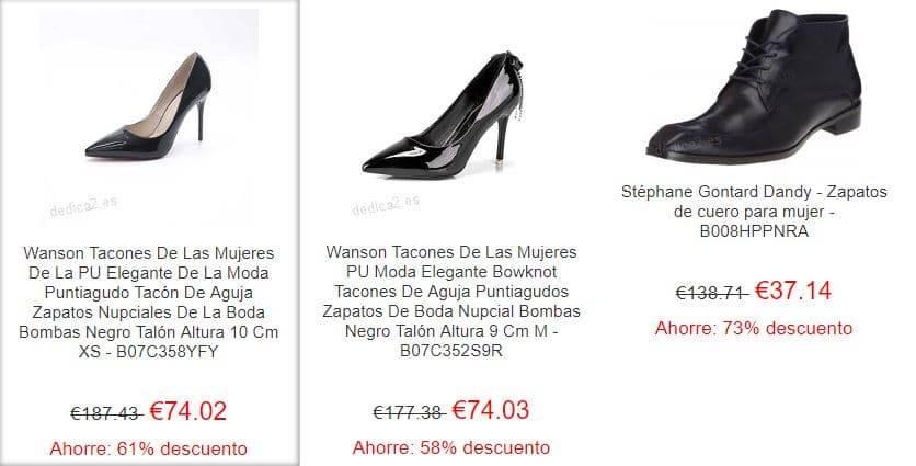 Dedica2.es Tienda Falsa Online