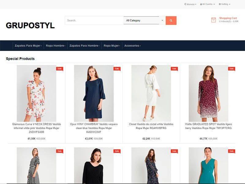 Grupostyle.es Tienda Falsa Online Moda