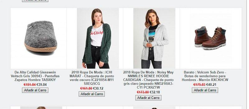Moneymakers.es Fake Online Fashion Shop